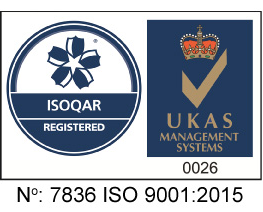 ISO 9001:2015 approved by Alcums ISOQAR